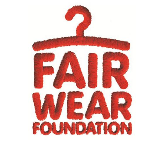 Ten year membership of the Fair Wear Foundation